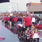 Holiday parade in Columbia